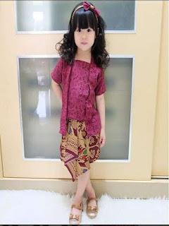 model rok batik panjang anak