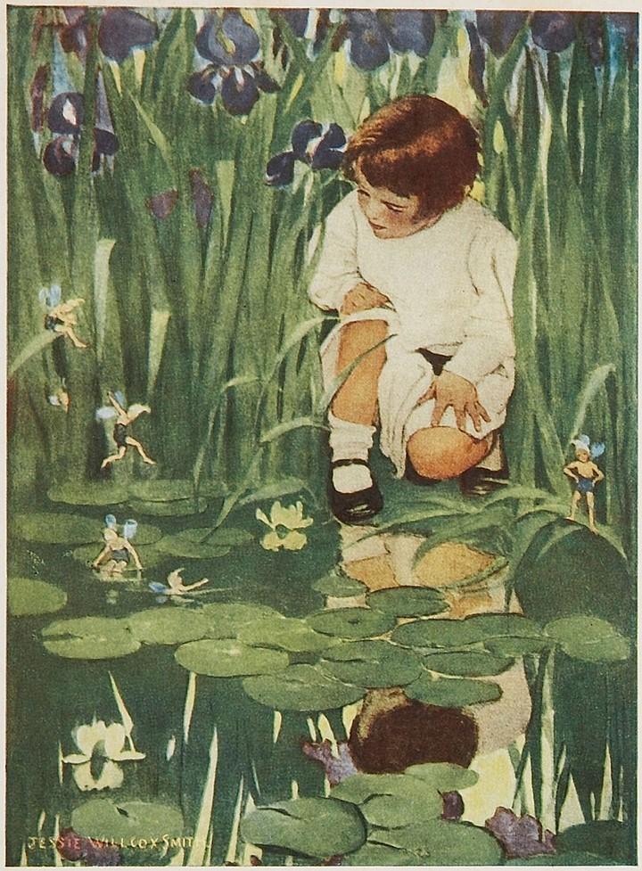 Jessie Willcox Smith, The Way to Wonderland