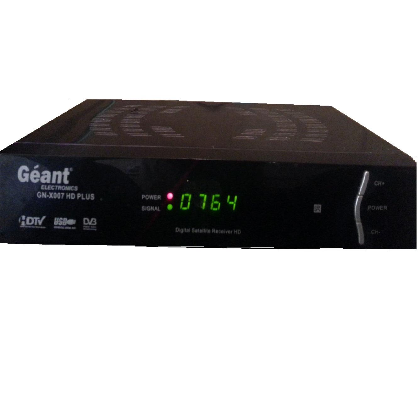 اخر تحديث لجهاز Mise à jour Geant GN-X007 HD plus