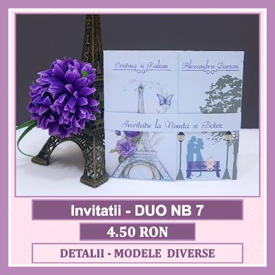 http://www.bebestudio11.com/2018/04/invitatii-nunta-si-botez-duo-nb-7.html