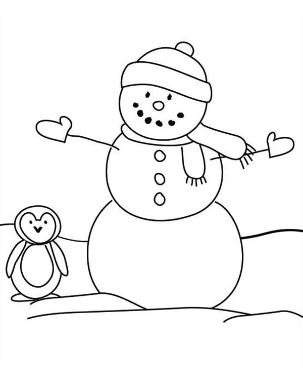 Free printable christmas coloring pages snowman ~ Coloring Pages: Christmas Snowman Coloring Pages Free and ...