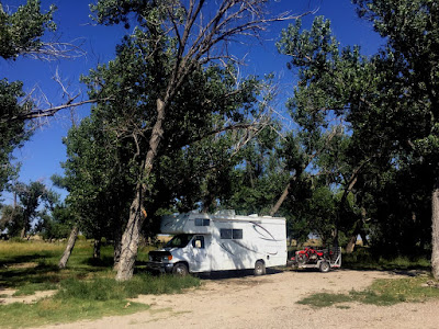 Boondocking near Glenrock, WY