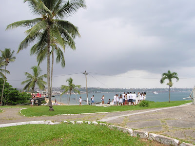 Vistas desde Fuerte de Monte Serrat, Forte do Monte Serrat, Salvador de Bahía, Brasil, La vuelta al mundo de Asun y Ricardo, round the world, mundoporlibre.com