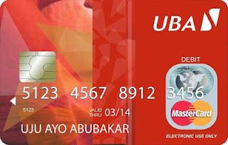 UBA mastercard