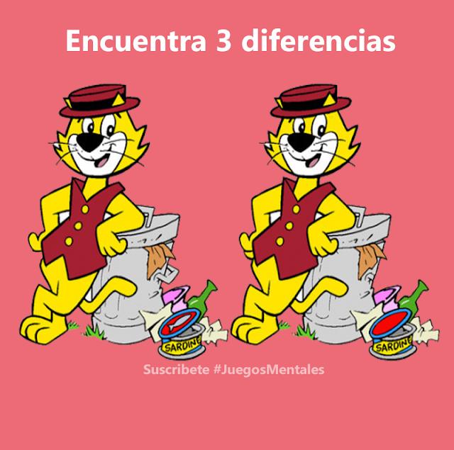 Juegos de Encontrar Diferencias entre dos Imágenes