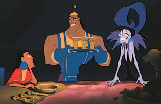 600full the emperor s new groove screenshot