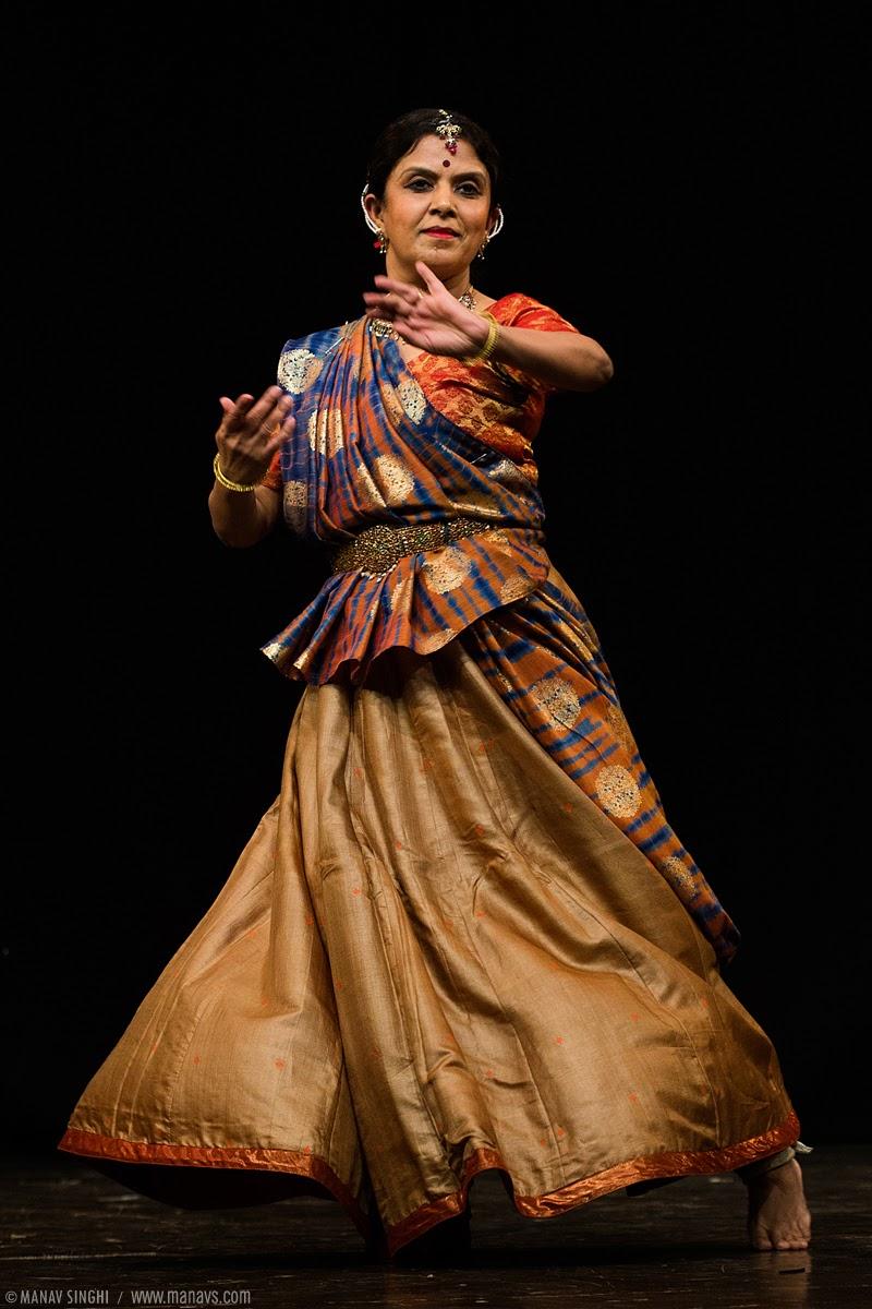 Manjiri Kiran Mahajani Kathak Dancer  from Jaipur Gharana