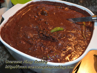Dinuguan sa Sampalok - Cooking Procedure