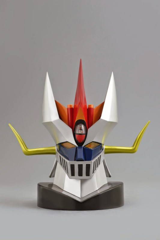 La testa del Great Mazinger & Brian Condor della Evolution Toy