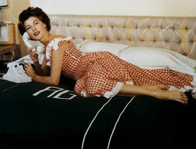 Ava Gardner In Color