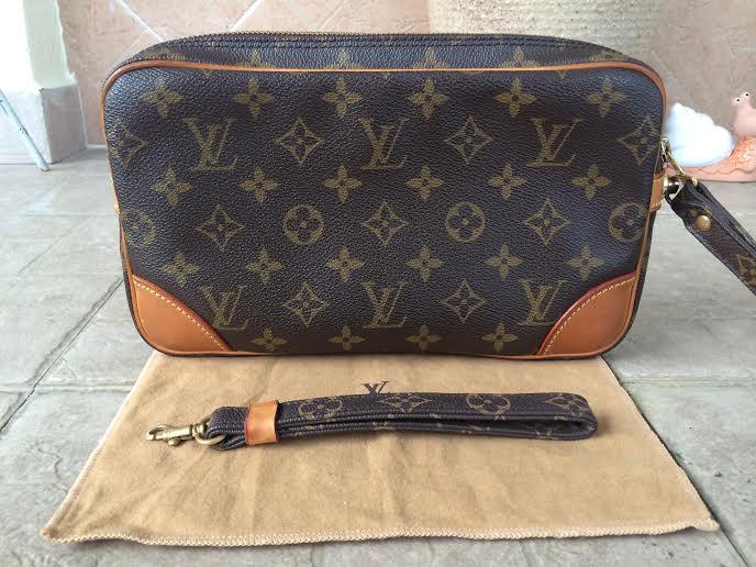 66119f8da Truly Vintage: Authentic Louis Vuitton Monogram Marly Dragonne ...