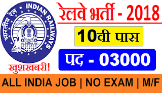 Eastern Railway Recruitment Cell 2018 - Apply Online for 2907 Apprentices Post