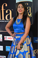 Madhu Shalini Looks Super Cute Slim trim Blue Choli Ghagra IIFA Utsavam Awards 19.JPG