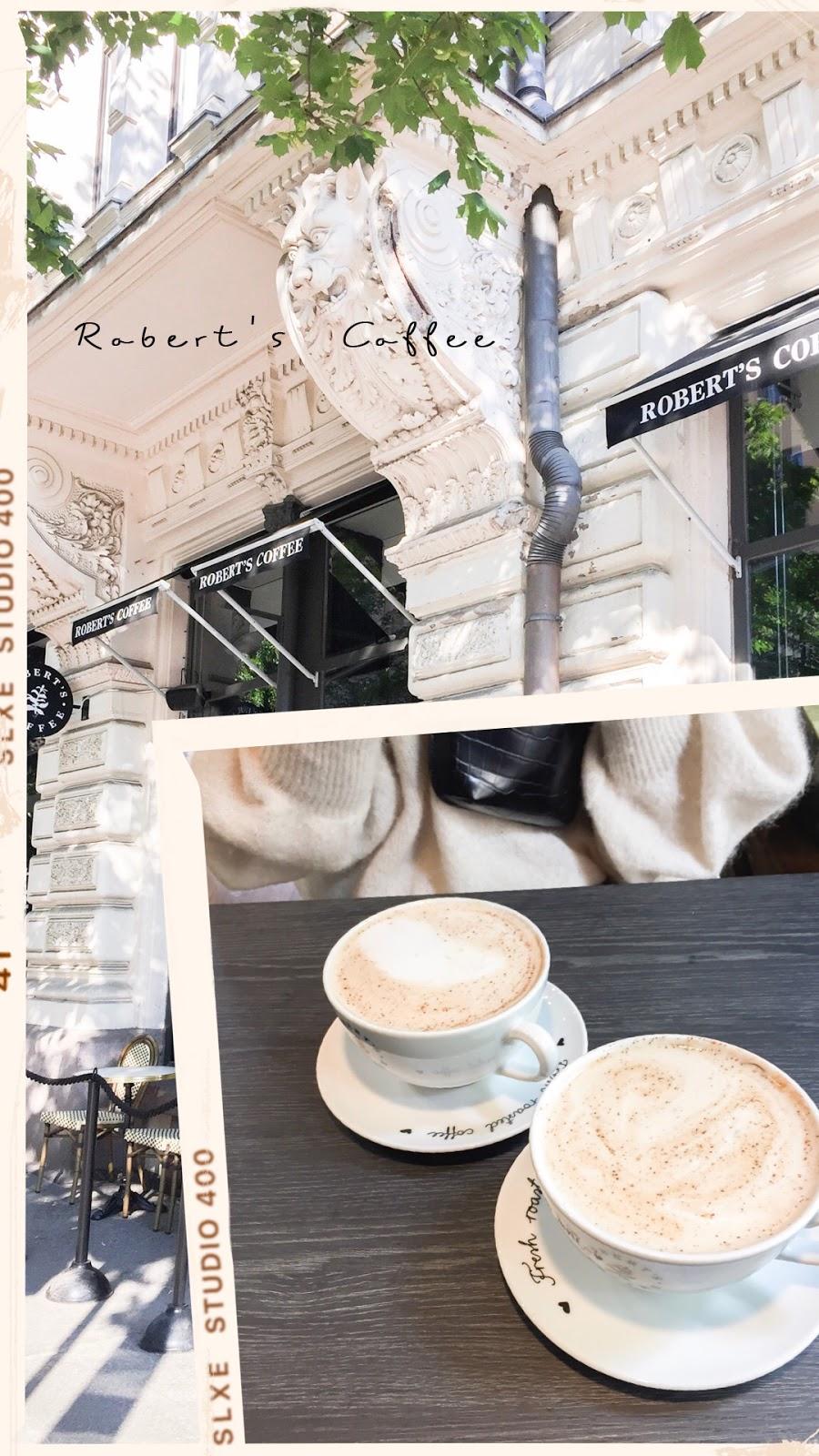 Helsinki Coffee Guide / Helsingin kahvilat: Robert's Coffee Bulevardi & Jugend