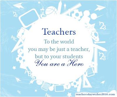 inspirational teachers essays
