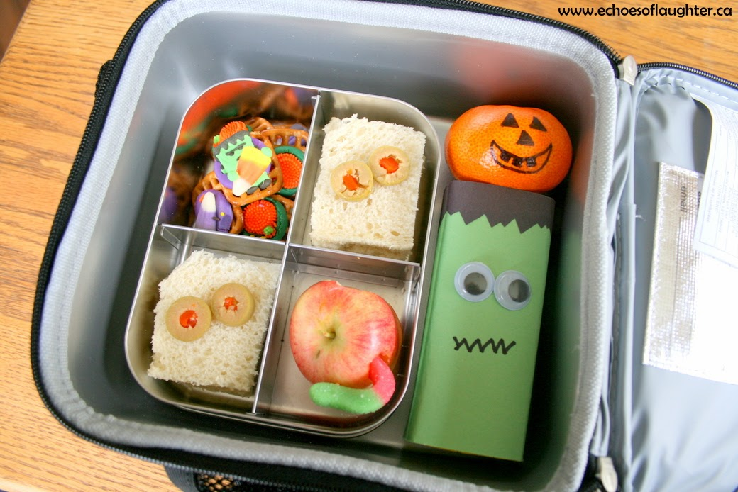 Easy Halloween School Lunch Echoes Of Laughter
