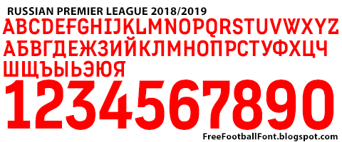 Free Football Fonts: 2018