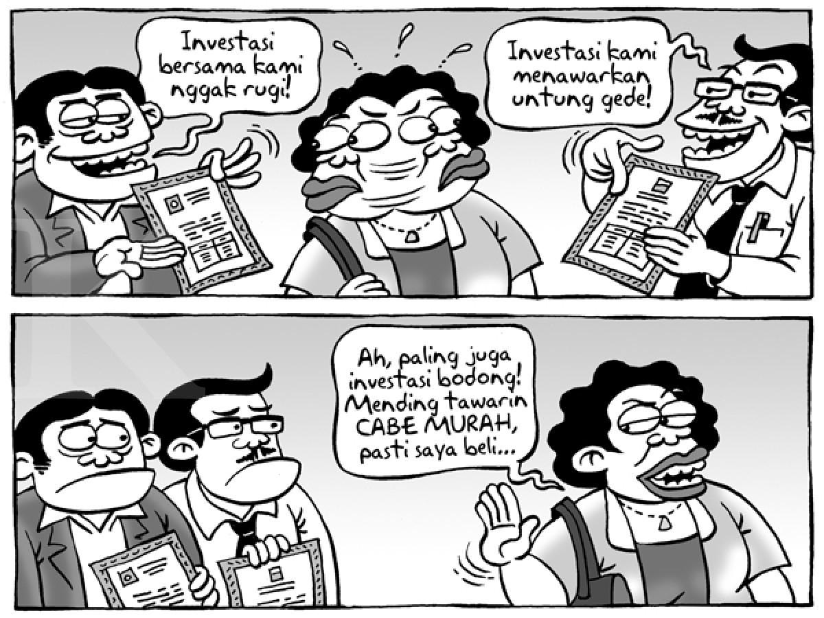 TamtomoVision: Kartun Kontan Benny Rachmadi - Januari 2017