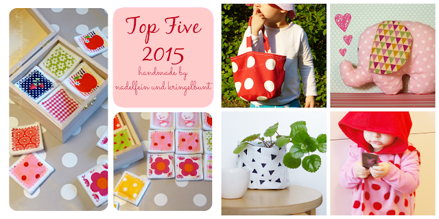 Top Five 2015 handmade by nadelfein und kringelbunt