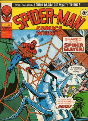 Spider-Man Comics Weekly #151, the Spider-Slayer