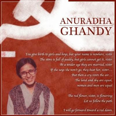 """Résultat de recherche d'images pour """"Anuradha Ghandy"""""""