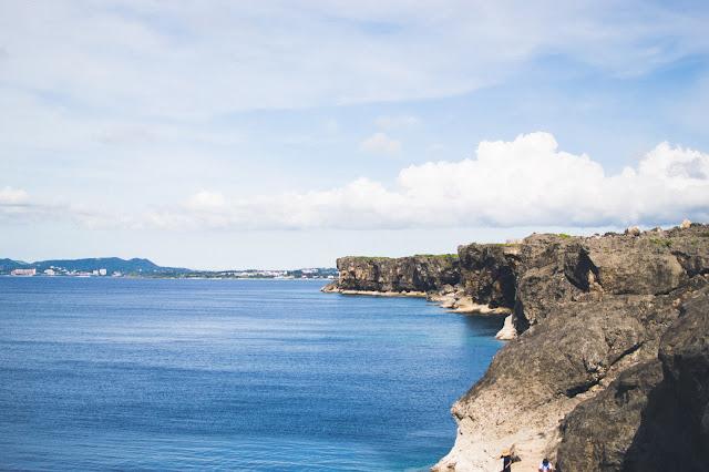 cape zanpa zampa yomitan okinawa japan cliffs