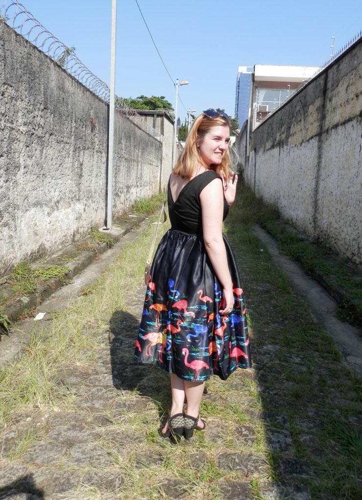 vestido estilo lady like