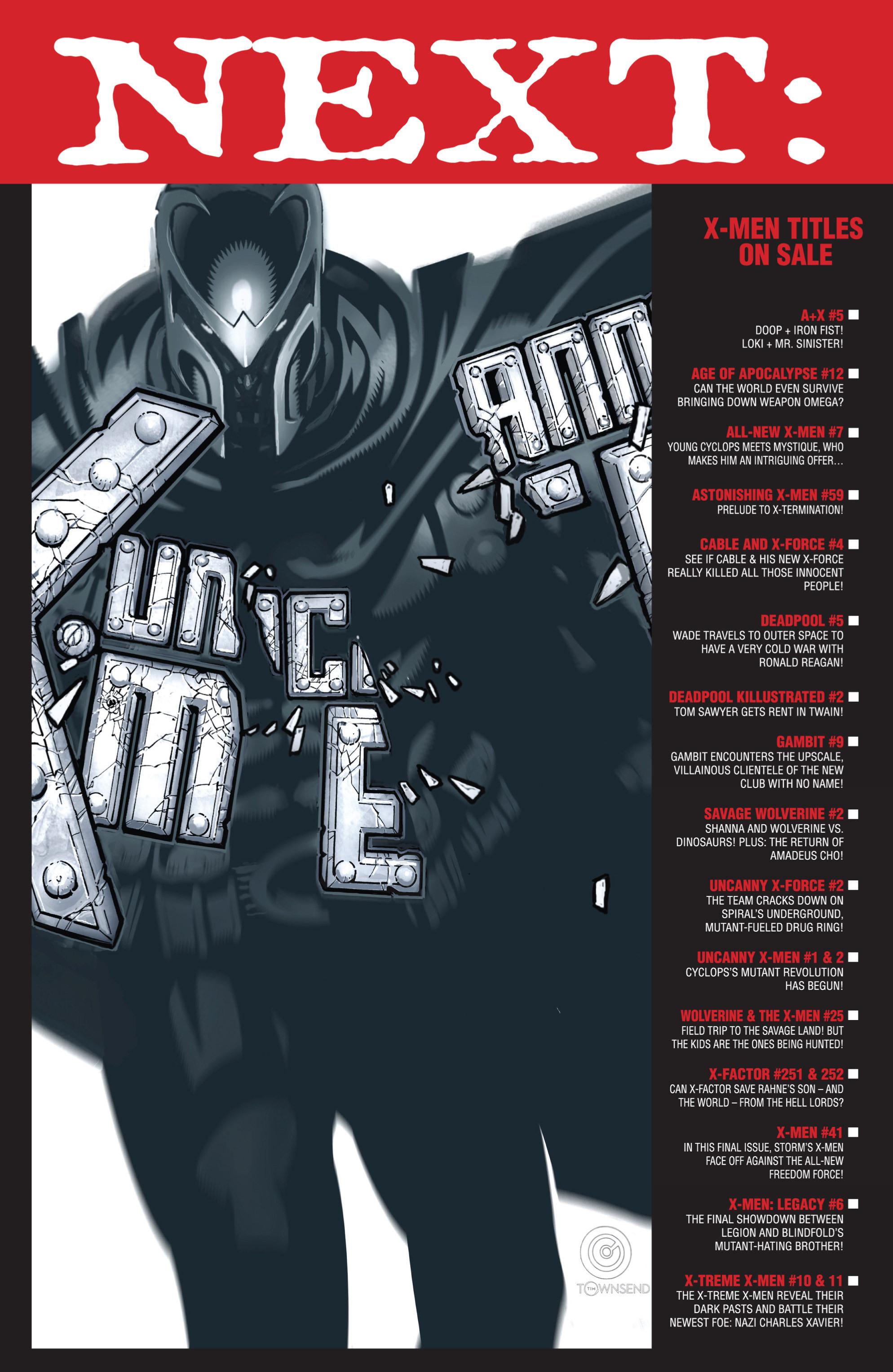 Read online Uncanny X-Men (2013) comic -  Issue #2 - 20