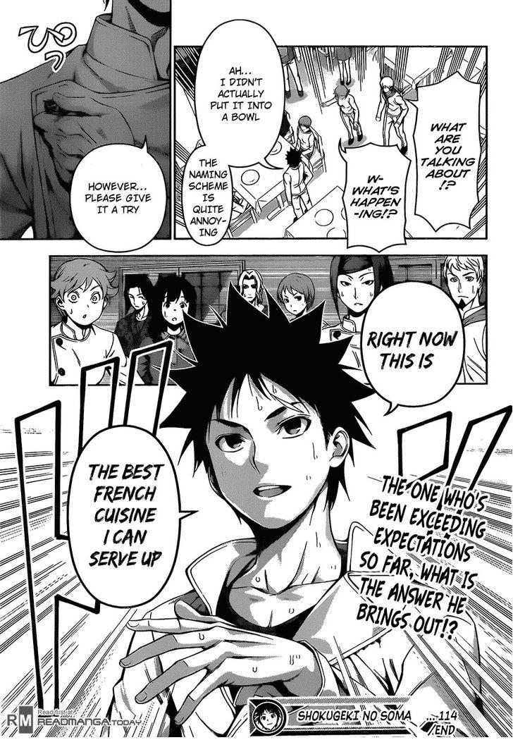 Shokugeki no Soma - Chapter 130