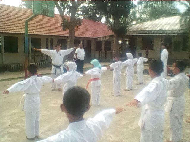 Hendrik Halim Tinjau Latihan Catur Dan Karate