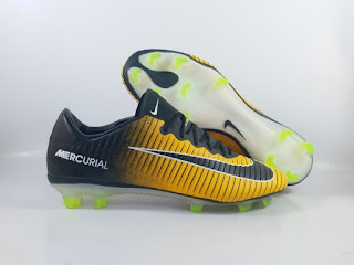 Nike Mercurial Vapor 11 FG - Yellow Black