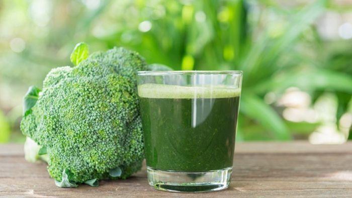 Resep jus brokoli mentah