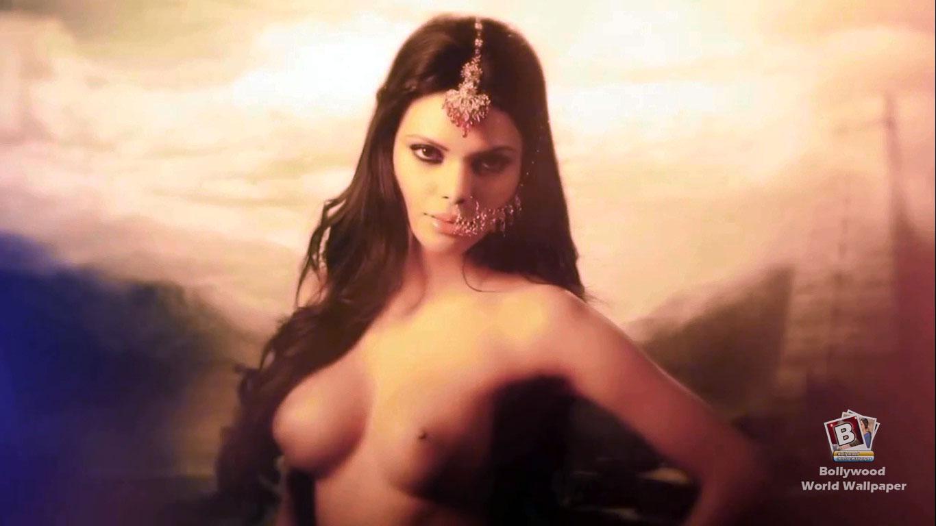 Ozadja v Bollywoodu Sherlyn Chopra Nude Photo In-2437