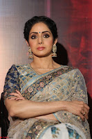 Sri Devi in designer saree stunning beauty at the launch of MOM movie Trailer~  Exclusive 055.JPG