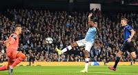 بخمس اهداف مانشستر سيتي يتغلب على فريق اتلانتا بنتيجة كاسحه في الجولة الثالثه من دوري أبطال أوروبا