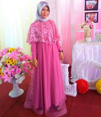 Contoh Model Kebaya Gamis Untuk Ibu-Ibu