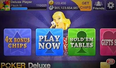 تحميل لعبة الورق Texas HoldEm Poker Deluxe الرائعة لاندرويد