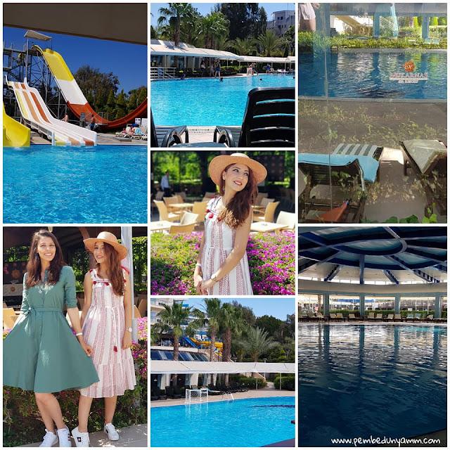 mukarnas hotel havuzlar