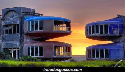 apartamentos futuristicos abandonados