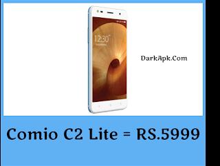 5,999 Budget Smartphone Comio C2 Lite Specification