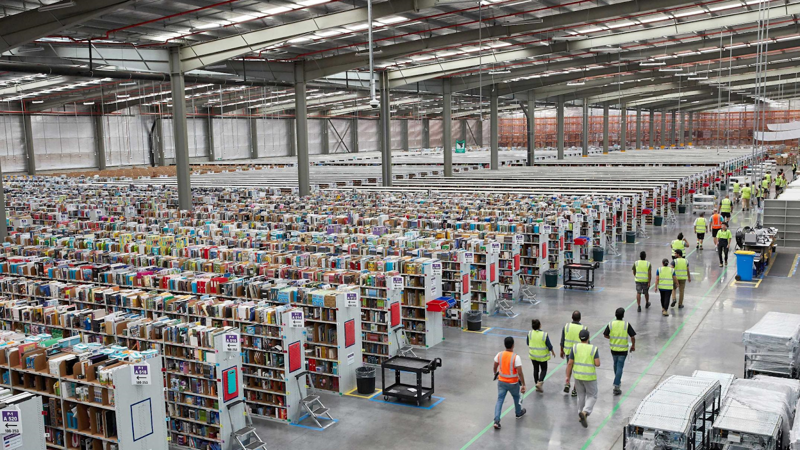 The Low Down What Happens Inside An Amazon Warehouse When You Click Buy Now