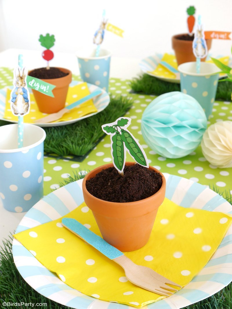 A Peter Rabbit Spring Party With Free Printables Party