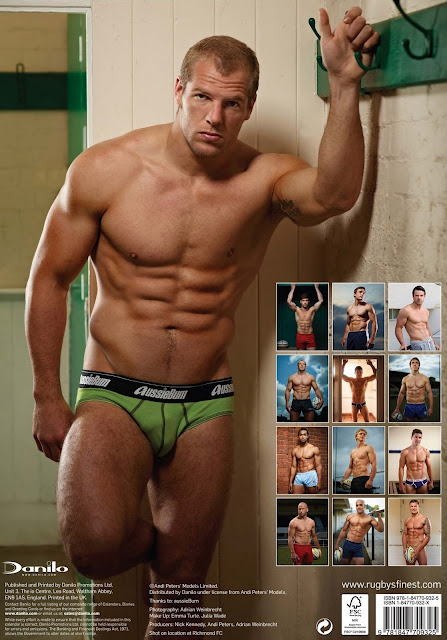 'Rugby's Finest' - 2012 • James Haskell • Rugby Union Player