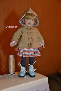 ветровка, куртка, плащ для куклы