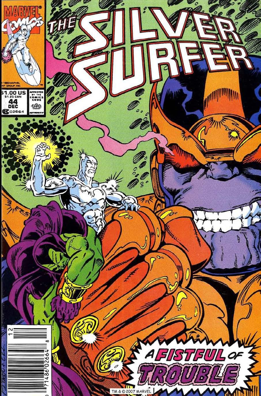 Read online Silver Surfer (1987) comic -  Issue #44 - 1