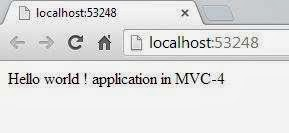 Getting started with MVC 4