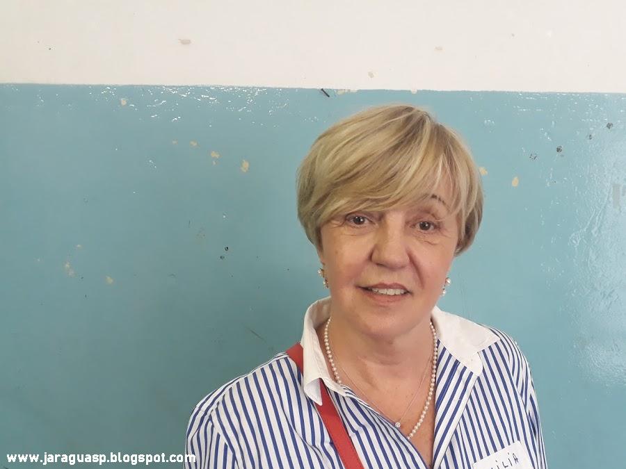 Emilia Woznarowycz começou a estudar no colégio Isabel em 1957. Foto: Marinaldo Gomes Pedrosa
