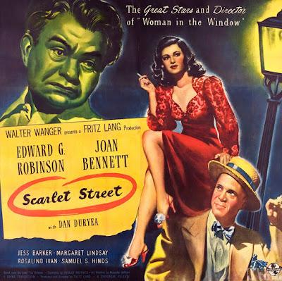 Perversidad (Scarlet Street) - 1945 - Poster Película