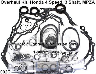 Cobra Transmission Parts 1-800-293-1848: Honda MPZA