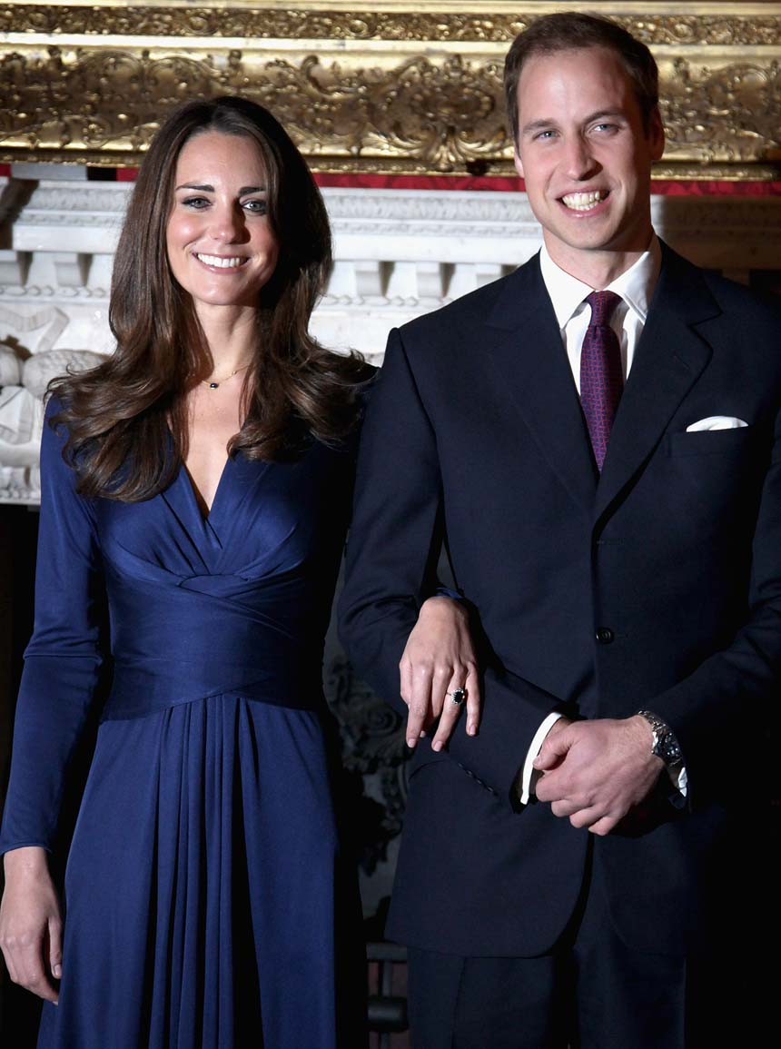 prince+william+kate+middleton+1st+james+palace - William And Kate Wedding Day